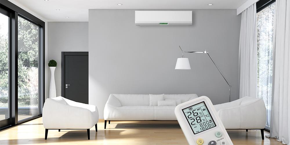 climatiseur en intérieur