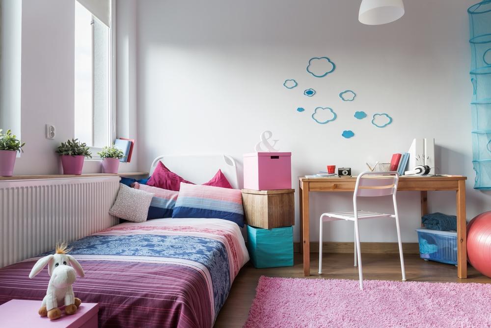 peindre les murs de la chambre de votre bébé
